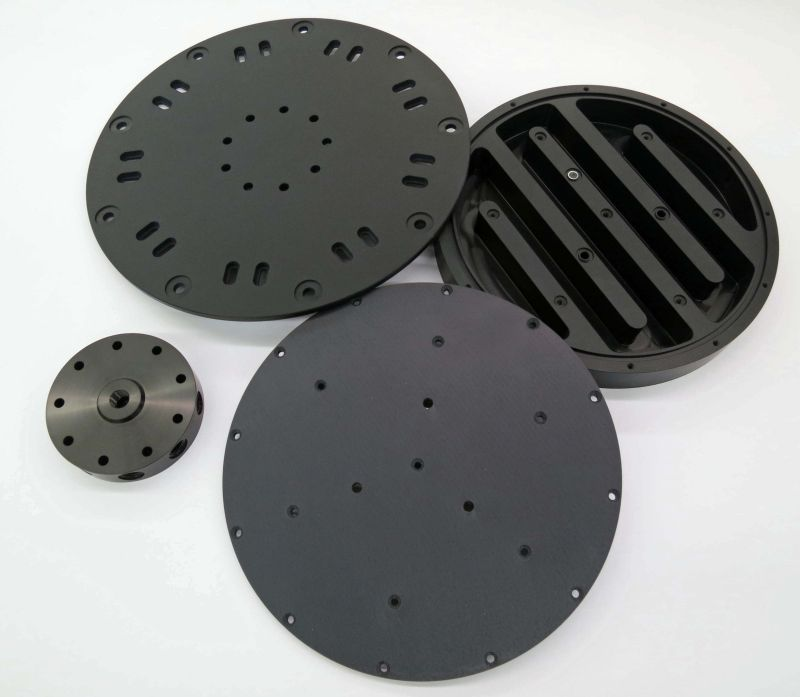 Large Disks with Black Anodize
